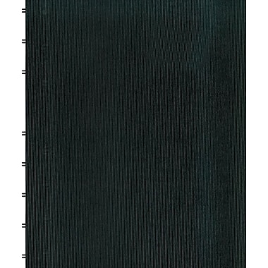 Blueline MiracleBind Business Notebook, Black Hard Cover, Pages Can Repositioned, 150 Pages / 75 Sheets, 9-1/4
