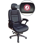 Wild Sports NCAA Leather Executive Chair, Alabama Crimson Tide
