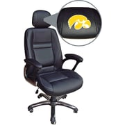 Wild Sports NCAA Leather Executive Chair, Iowa Hawkeyes