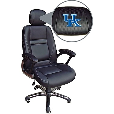 Wild Sports NCAA Leather Executive Chair, Kentucky Wildcats