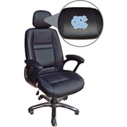 Wild Sports NCAA Leather Executive Chair, North Carolina Tar Heels