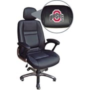 Wild Sports NCAA Leather Executive Chair Ohio State Buckeyes