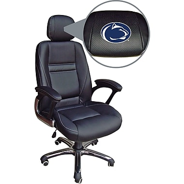 Wild Sports NCAA Leather Executive Chair, Penn State Nittany Lions
