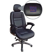 Wild Sports NFL Leather Executive Chair, New York Giants