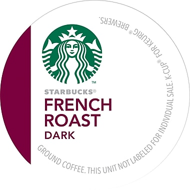 Keurig® K-Cup® Starbucks® French Roast Coffee, Regular, 16 Pack
