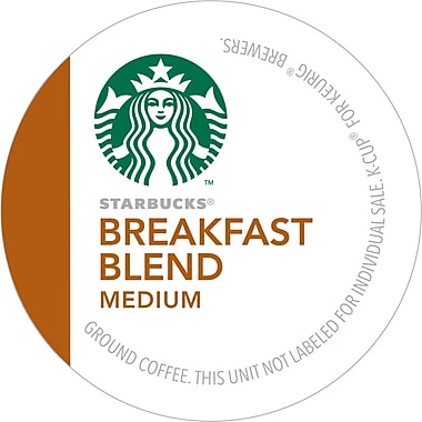 Keurig® K-Cup® Starbucks® Breakfast Blend Coffee, Regular, 16 Pack