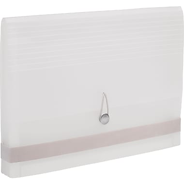 Martha Stewart Home Office™ with Avery™ Poly Accordion File, White, 12 Tabs, 13 Pockets