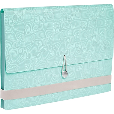 Martha Stewart Home Office™ with Avery™ Poly Accordion File, Blue Wave, 12 Tabs, 13 Pockets