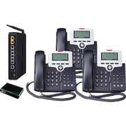 XBLUE X-50 VoIP Office Telephone System, 3pk - Charoal