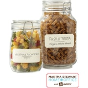 Martha Stewart Home Office™ with Avery™ Textured Labels, Eggshell, Classic, 1-5/8 x 3-3/4, 18/Pack