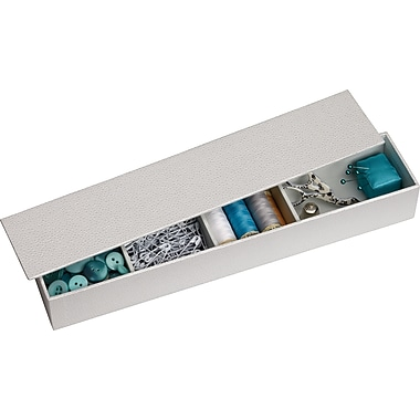 Martha Stewart Home Office™ with Avery™ Stack+Fit™ Shagreen Small Item Holders