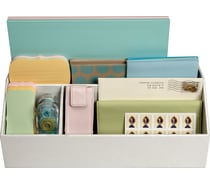 Martha Stewart Stack & Fit Desk Accessories