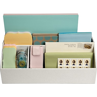 Martha Stewart Home Office™ with Avery™ Stack+Fit™ Shagreen Organizers
