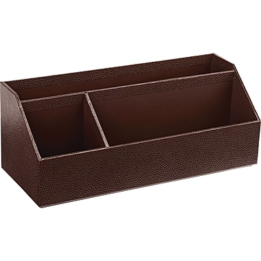 Martha Stewart Home Office™ with Avery™ Stack+Fit™ Shagreen Organizer, Brown