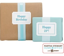 Martha Stewart Permanent Labels