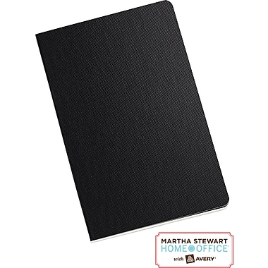 Martha Stewart Home Office™ with Avery™  Notebook, Black, 3-1/2in. x 5-1/2in.