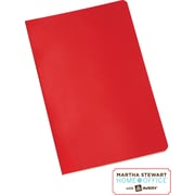 Martha Stewart Home Office™ with Avery™ Notebook, Red, 5-1/2 x 8-1/2
