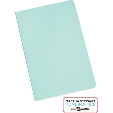 Martha Stewart Home Office™ with Avery™  Notebook, Blue, 5-1/2in. x 8-1/2in.