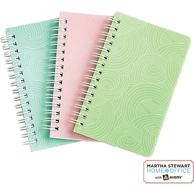Martha Stewart Home Office™ with Avery™ Notebooks, Textured, 3-1/2in. x 5-1/2in.