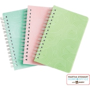Martha Stewart Home Office™ with Avery™ Notebooks, Textured, 3-1/2 x 5-1/2