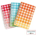 Martha Stewart Home Office™ with Avery™ Notebooks, Geometric, 3-1/2in. x 5-1/2in.
