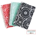 Martha Stewart Home Office™ with Avery™ Notebooks, Floral, 3-1/2in. x 5-1/2in.