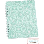 Martha Stewart Home Office™ with Avery™ Floral Notebook, Blue, 8-1/2 x 11