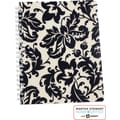 Martha Stewart Home Office™ with Avery™ Damask Notebook, Black, 8-1/2in. x 11in.