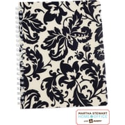 Martha Stewart Home Office™ with Avery™ Damask Notebook, Black, 8-1/2 x 11