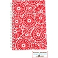 Martha Stewart Home Office™ with Avery™ Floral Notebook, Red, 5-1/2in. x 8-1/2in.