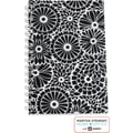 Martha Stewart Home Office™ with Avery™ Floral Notebook, Black, 5-1/2in. x 8-1/2in.
