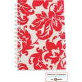 Martha Stewart Home Office™ with Avery™ Damask Notebook, Red, 5-1/2in. x 8-1/2in.