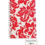 Martha Stewart Home Office™ with Avery™ Damask Notebook, Red, 5-1/2 x 8-1/2