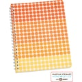 Martha Stewart Home Office™ with Avery™ Geometric Notebook, Orange, 8-1/2in. x 11in.