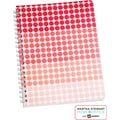 Martha Stewart Home Office™ with Avery™ Geometric Notebook, Red, 8-1/2in. x 11in.