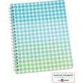 Martha Stewart Home Office™ with Avery™ Geometric Notebook, Blue, 8-1/2in. x 11in.