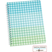 Martha Stewart Home Office™ with Avery™ Geometric Notebook, Blue, 8-1/2 x 11