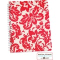 Martha Stewart Home Office™ with Avery™ Damask Notebook, Red, 8-1/2in. x 11in.