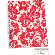 Martha Stewart Home Office™ with Avery™ Damask Notebook, Red, 8-1/2 x 11