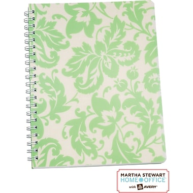 Martha Stewart Home Office™ with Avery™ Damask Notebook, 8-1/2in. x 11in.