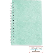 Martha Stewart Home Office™ with Avery™ Textured Notebook, Blue, 5-1/2 x 8-1/2