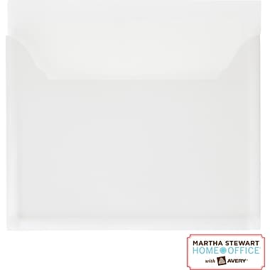 Martha Stewart Home Office™ with Avery™ Pocket, White, 8in. x 7- 1/4in.