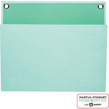 Martha Stewart Home Office™ with Avery™ Large Shagreen Pocket, Blue,  12in. x 10-1/4in.