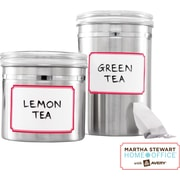 Martha Stewart Home Office™ with Avery™ Dry Erase Labels, Red Border, 2-1/2 x 3-3/4, 12/Pack