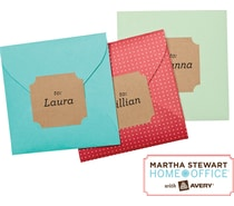 Martha Stewart Kraft Labels
