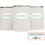 Martha Stewart Home Office™ with Avery™ Kitchen Labels, Blue Border, Oval, 1-5/8 x 3-1/2, 18/Pack