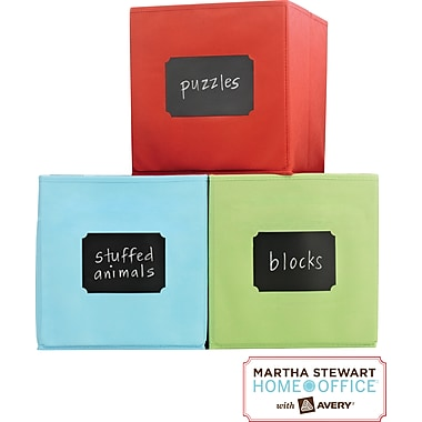 Martha Stewart Home Office™ with Avery™ Chalkboard Labels & Chalk