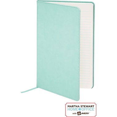 Martha Stewart Home Office™ with Avery™ Classic Smooth-Finish Journal, Blue, 5-1/2in. x 8-1/2in.