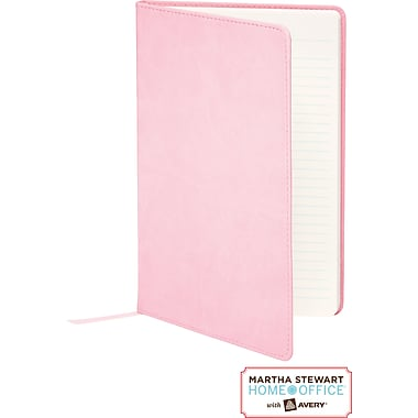 Martha Stewart Home Office™ with Avery™ Classic Smooth-Finish Journal, Pink, 5-1/2in.x 8-1/2in.