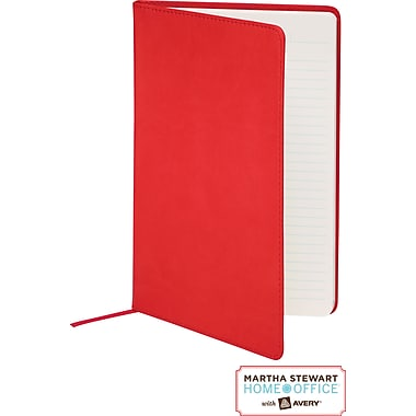 Martha Stewart Home Office™ with Avery™ Classic Smooth-Finish  Journal, Red, 5-1/2in. x 8-1/2in.